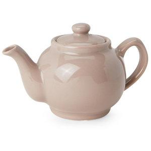 Price & Kensington Taupe 6 Cup Teapot
