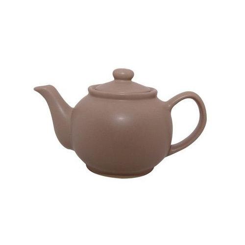 Price & Kensington Matte Taupe 2 Cup Teapot