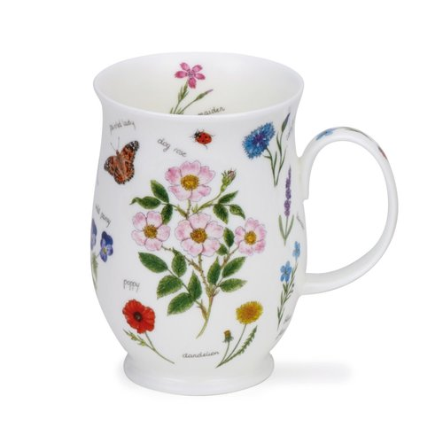 Dunoon Suffolk Nature Notebook Dogrose Mug