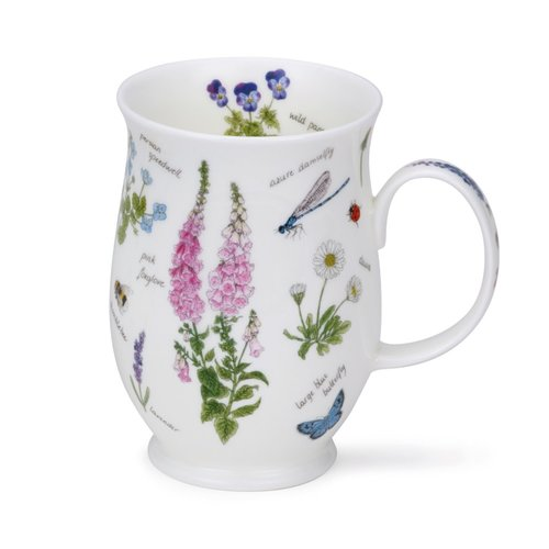 Dunoon Suffolk Nature Notebook Foxglove Mug