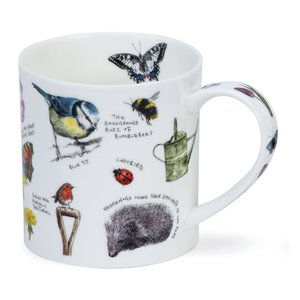 Dunoon Orkney Country Notebook Garden Mug