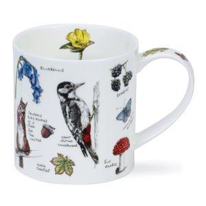 Dunoon Orkney Country Notebook Wood Mug