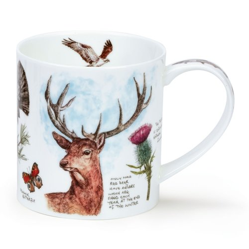 Dunoon Orkney Scottish Notebook Stag Mug