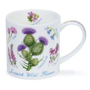 Dunoon Orkney Scottish Wildflowers Mug