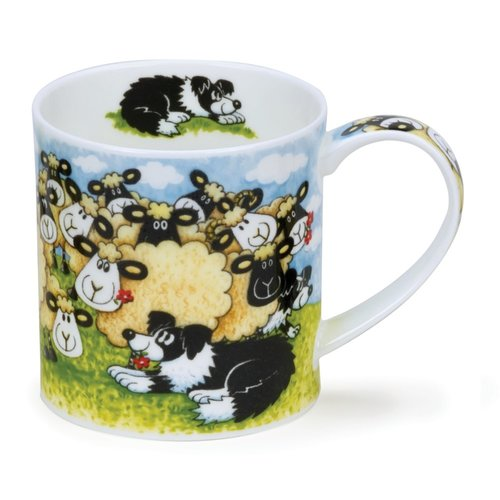Dunoon Dunoon Orkney Silly Sheep Flock Mug