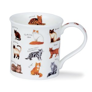 Dunoon Bute Animal Breeds Cat Mug