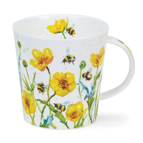 Dunoon Cairngorm Busy Bees Buttercup Mug