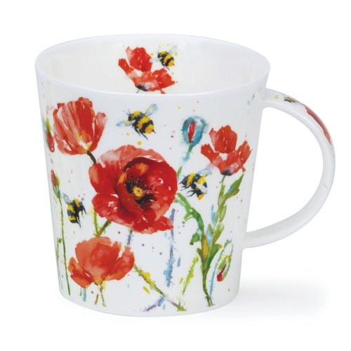 Dunoon Dunoon Cairngorm Busy Bees Poppy Mug