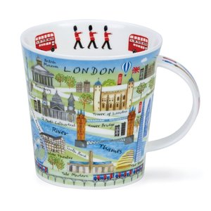 Dunoon Cairngorm London Map Mug