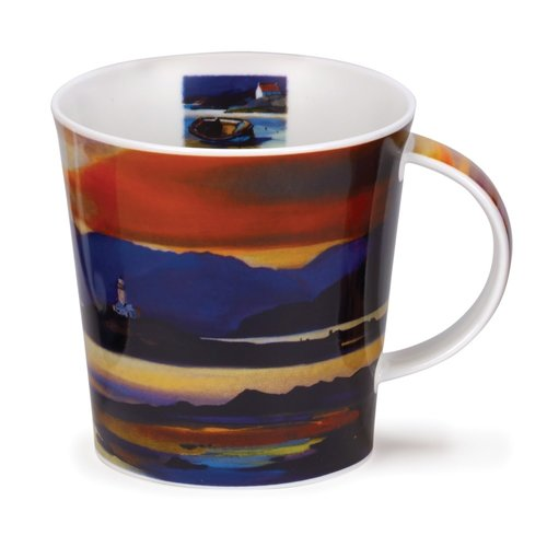 Dunoon Cairngorm Red Skies Lighthouse Mug