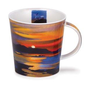 Dunoon Cairngorm Red Skies Sunset Mug