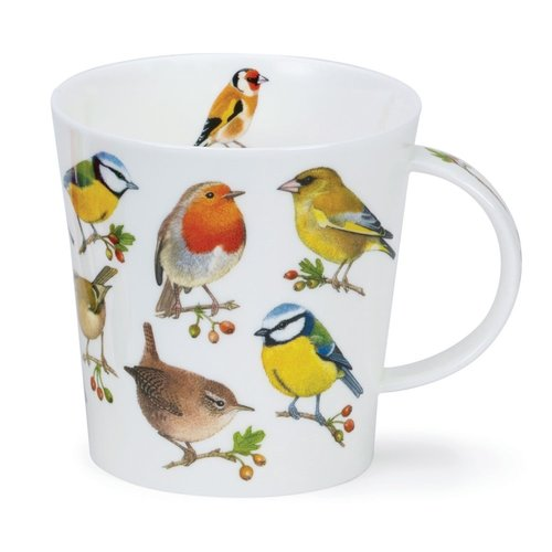 Dunoon Cairngorm Song Bird Berries Mug