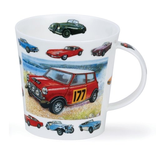 Dunoon Dunoon Cairngorm Vintage Collection Cars Mug