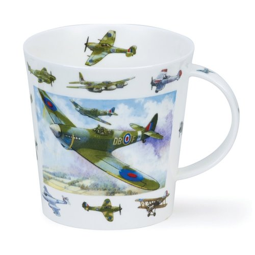 Dunoon Dunoon Cairngorm Vintage Collection Planes Mug