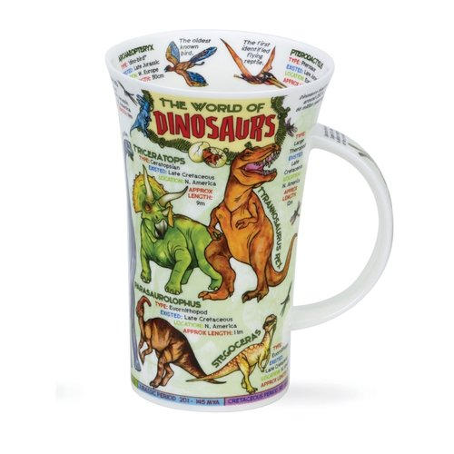 Dunoon Glencoe World of Dinosaurs Mug