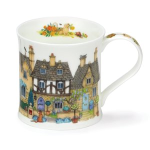 Dunoon Wessex Cottage Row Stone Mug
