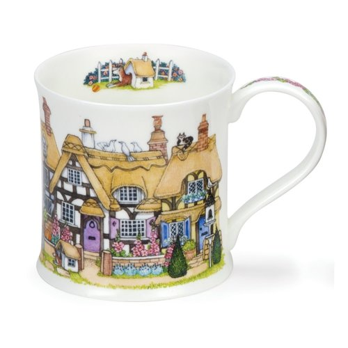 Dunoon Wessex Cottage Row Thatch Mug