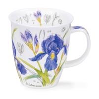 Nevis Floral Sketch Iris Mug
