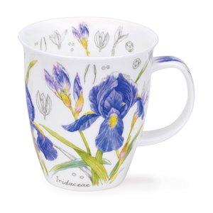Dunoon Nevis Floral Sketch Iris Mug