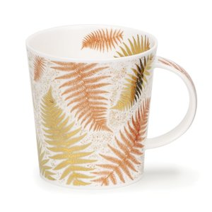 Dunoon Lomond Ferns White Mug