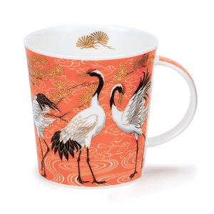 Dunoon Lomond Shalamar Orange Mug
