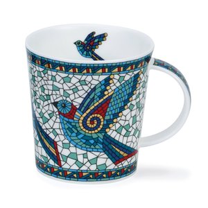 Dunoon Lomond Terrazzo Bird Mug