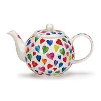 Warm Hearts Small Teapot