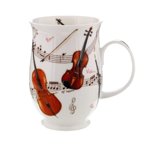 Dunoon Suffolk Instrumental Violin Mug