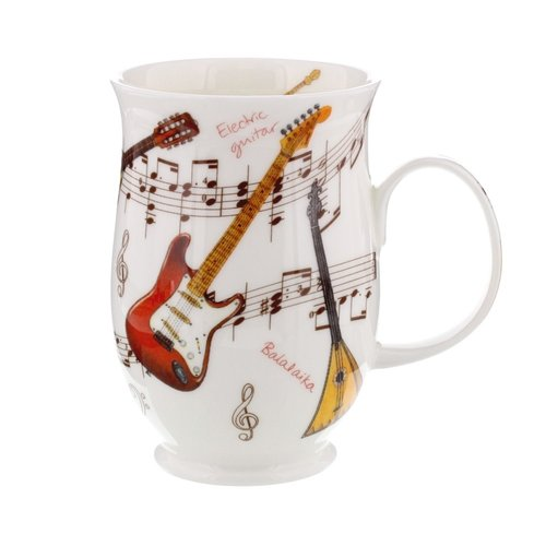 Dunoon Suffolk Instrumental Guitar Mug