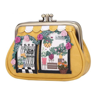 Flower Shop Clipper Coin Purse