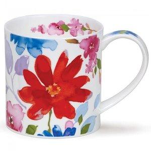 Dunoon Orkney Bloom Red Mug