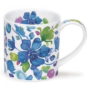 Dunoon Orkney Firenze Blue Mug