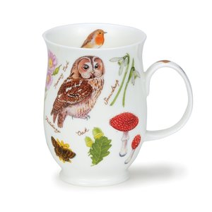 Dunoon Suffolk Woodland Owl Mug