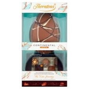 Thorntons Continental Collection Milk Chocolate Large Egg