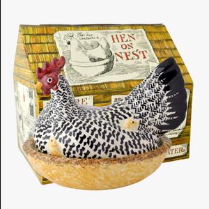 Emma Bridgewater Silver Hen on Nest Boxed