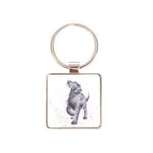 Wrendale 'Walkies' Keyring