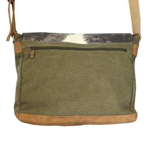 Disaster Designs Abbey Road Green Satchel