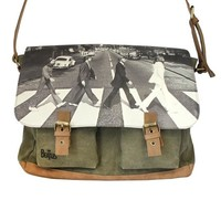 Abbey Road Green Satchel