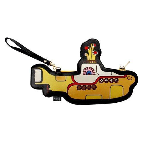 Disaster Designs Yellow Submarine Shaped Mini Bag