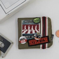 Abbey Road Canvas Wallet