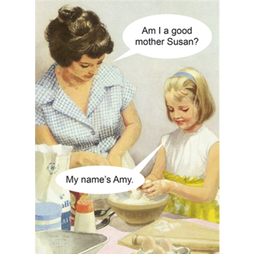 Bad Mother Mother's Day Card