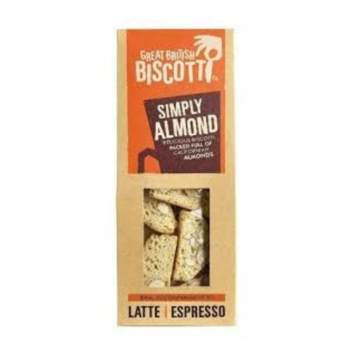Simply Almond Biscotti