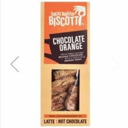 Dark Chocolate Orange Biscotti