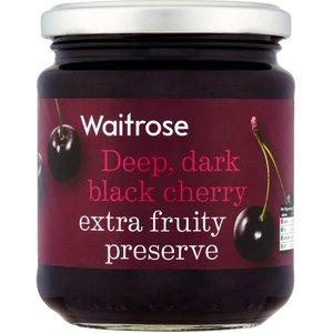 Waitrose Black Cherry Preserve