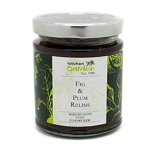 Kitchen Garden Kitchen Garden Fig and Plum Relish