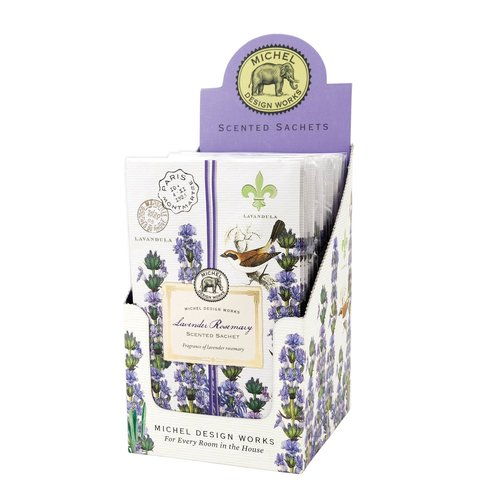 Michel Design Works Michel Lavender Rosemary Scented Sachet