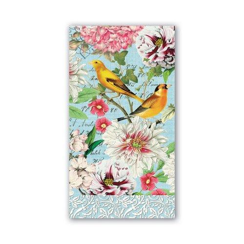 Michel Design Works Garden Melody Hostess Napkins