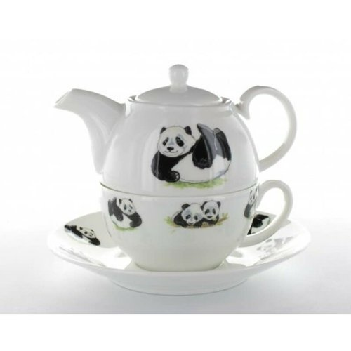 Roy Kirkham Panda Tea for One