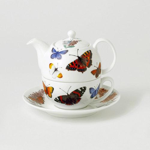 Roy Kirkham Butterfly Tea for One
