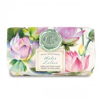 Water Lillies Large Bath Soap Bar